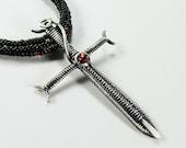 Sword Pendant - Wire Woven Jewelry Tutorial