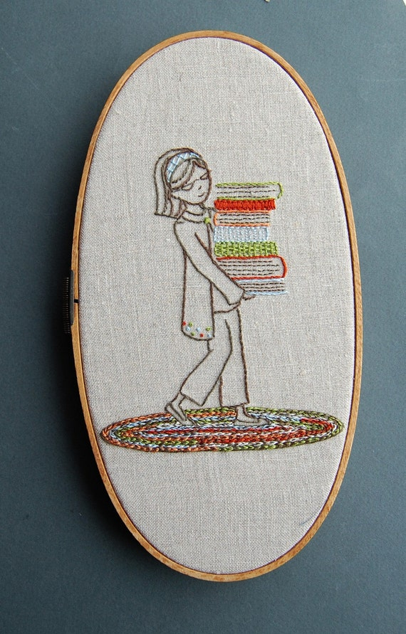 Embroidery Patterns, BOOKSMART Hand Embroidery Patterns, Teacher Appreciation DIY Dorm Decor DIY pattern set, Embroidery Designs