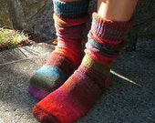 Slouchy (pattern for knitted socks)