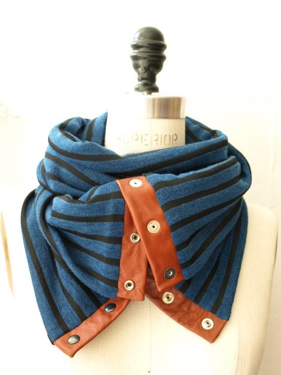 Chunky stripes circular infinity scarf ( last one )