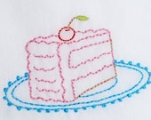 Cake Embroidery Pattern Packet