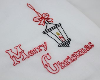 Christmas Embroidery Pattern Victorian Christmas Embroidery Pattern Hand Embroidery