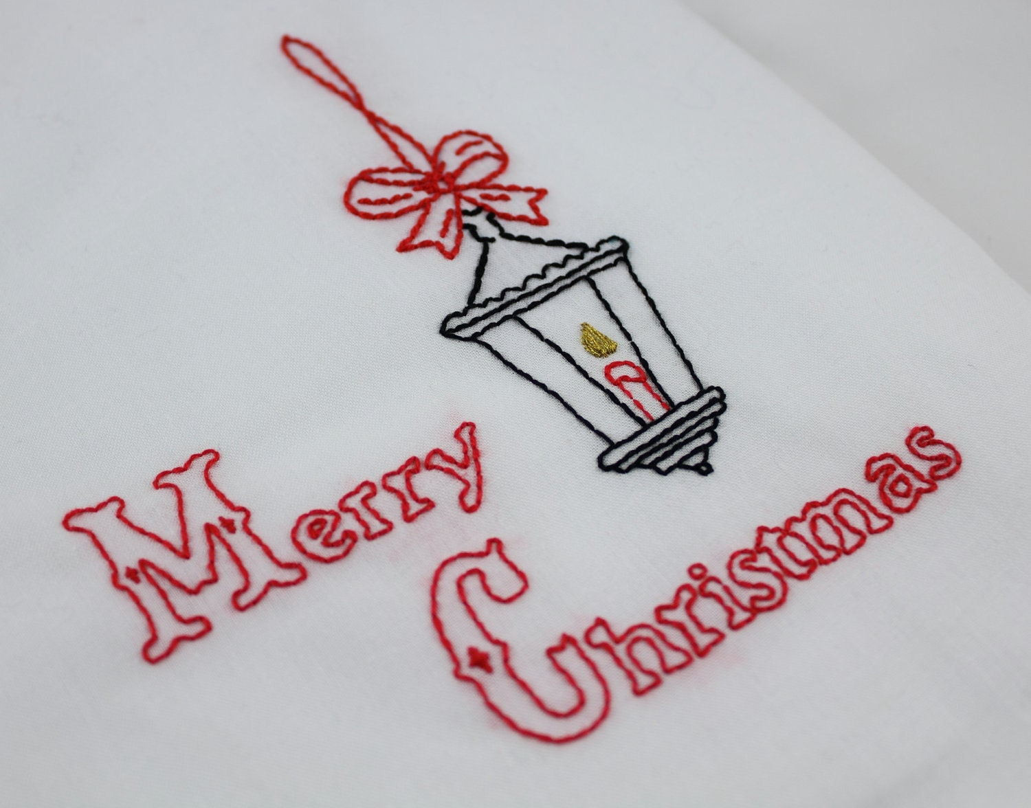 Christmas embroidery pattern victorian