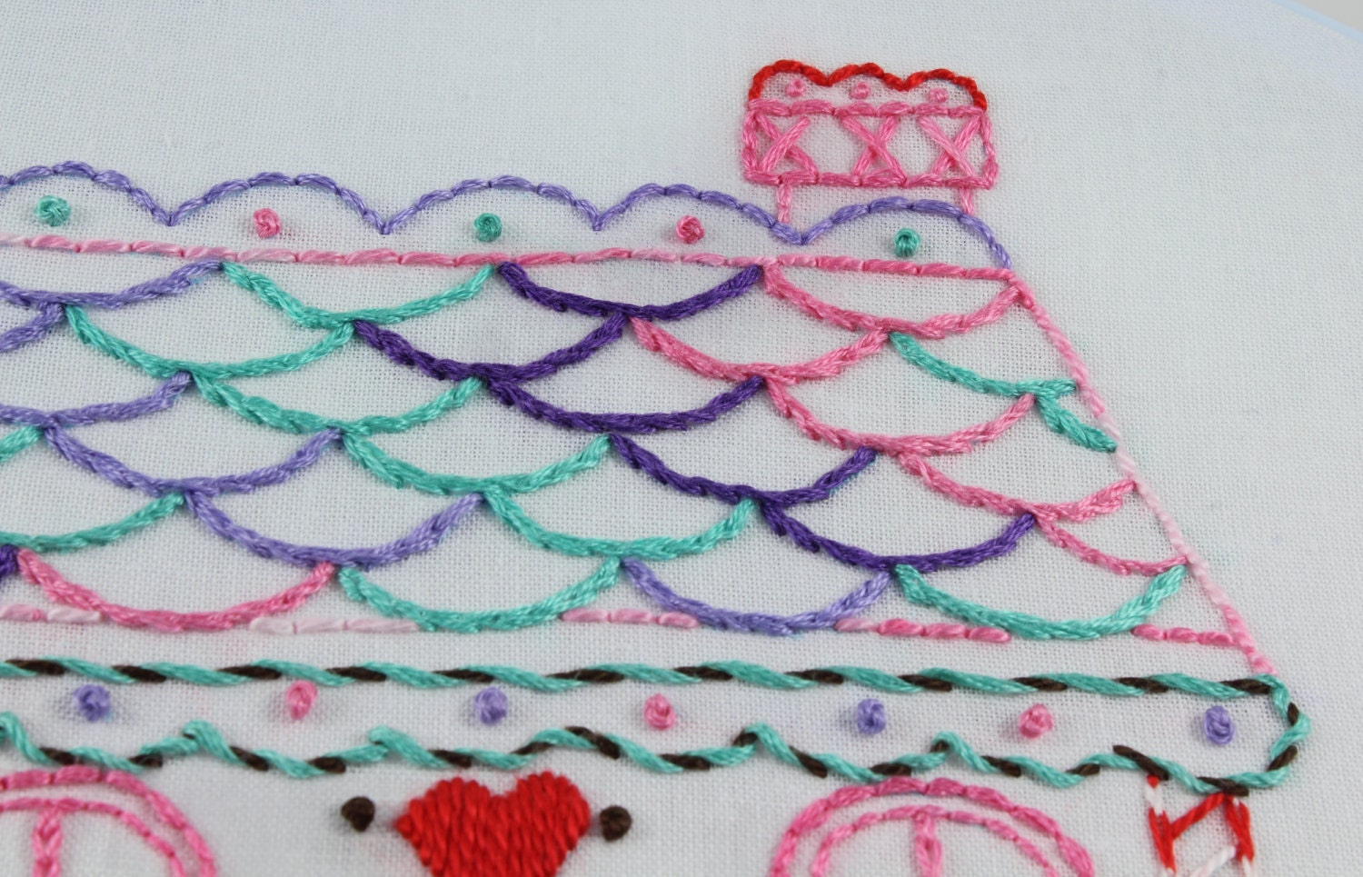 Gingerbread Embroidery Pattern Packet Gingerbread Man