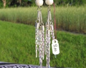 Icicles and Snow Balls Earrings