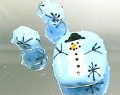 Holiday Glass Beads handmade by Terri Fout
