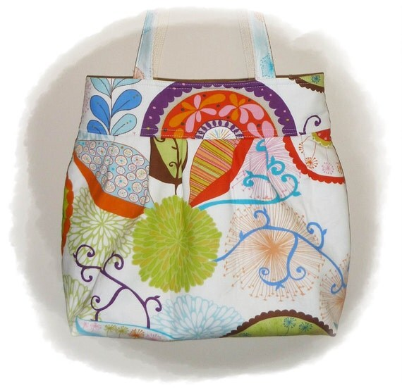 TOOTLES Jacqui Boutique Bag - Valorie Wells WRENLY Designer Fabric - - - (Ready to Ship)