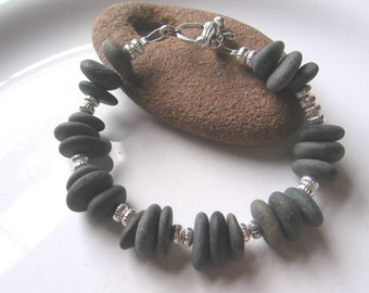 Lake Superior Zen Stone Bracelet