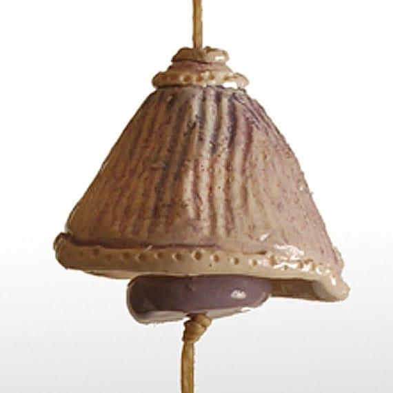 Small Purple Garden Bell