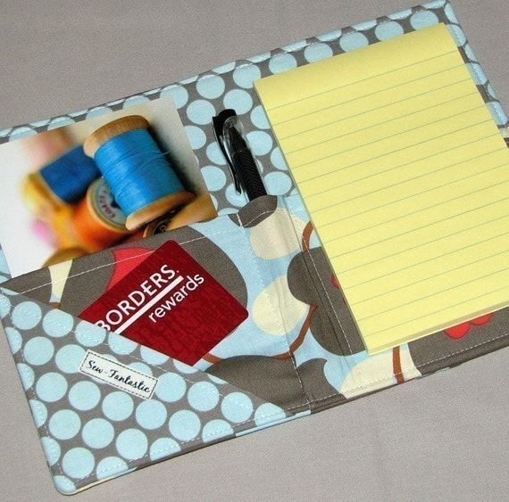 List Taker  Mini Shopper - Notepad Clutch - Morning Glory
