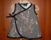 ON SALE New Punk Rock Cherry Blossom Baby Kimono Sizes Newborn