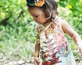 LIMITED New  Asian Summer Toddler Kimono Girls Dress Size 2t, 3t