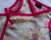 New Golden Pink Blossom Kimono Toddler Girls Dress size 2T, 3T