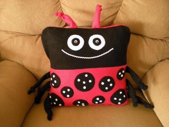 Ladybug Pillow Cover