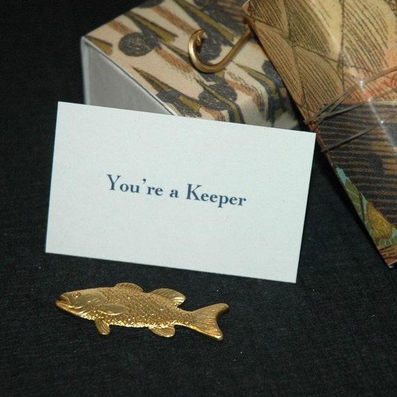 You're A Keeper Message Box (a card and a gift)