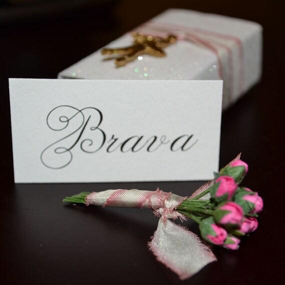 Ballerina BRAVA Miniature Message Box