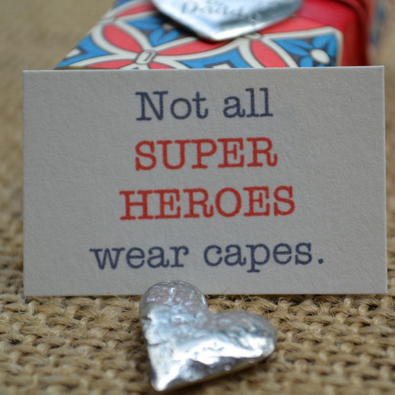 My Heart Belongs to Daddy/Not All Super Heroes Wear Capes Message Box