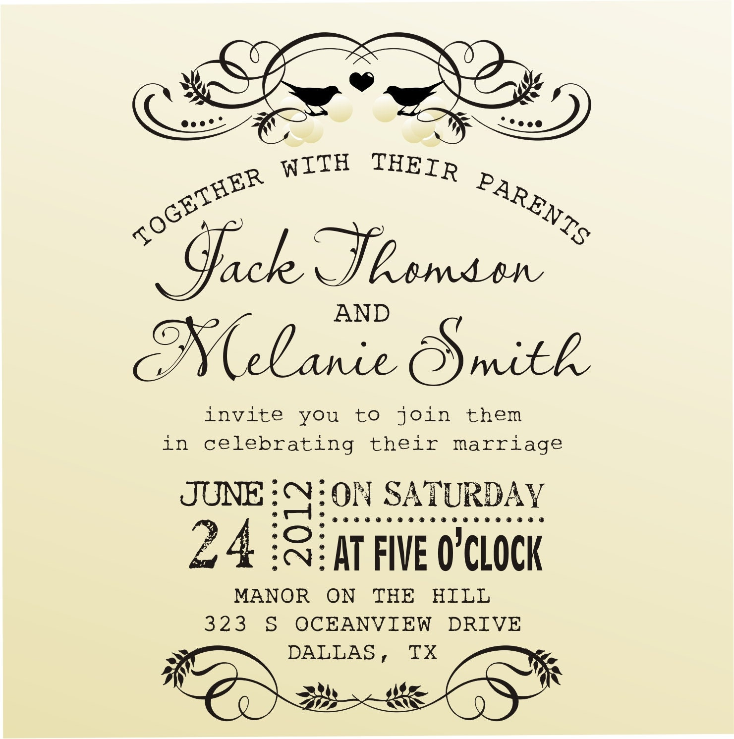 Handwritten Wedding Invites with perfect invitations design