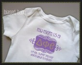 Delta Phi Epsilon Mommy - Funny Baby Gift
