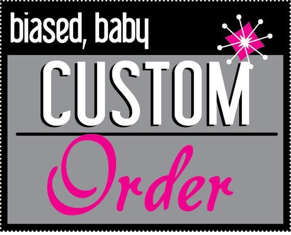 CUSTOM BABY BODYSUIT - Select your favorite design