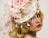 Rose and Bird Countess Hat