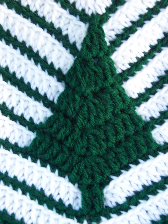 Pine tree afghan reserved for rudyoscar by flutterbuggcreations