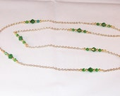Emerald Crystal Necklace