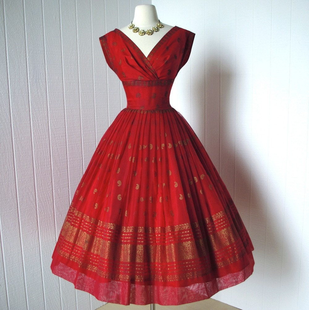 1950 S Party Dress