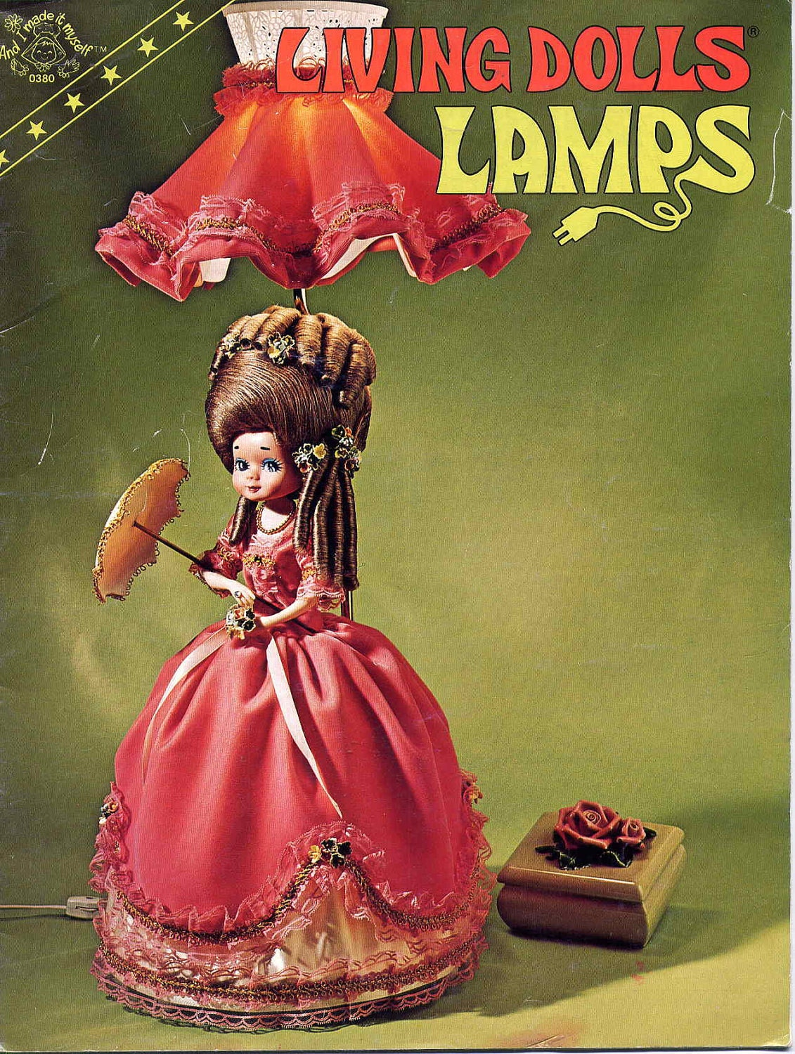 Vintage 1970s Living Dolls Lamps Craft Bookmake Your Own