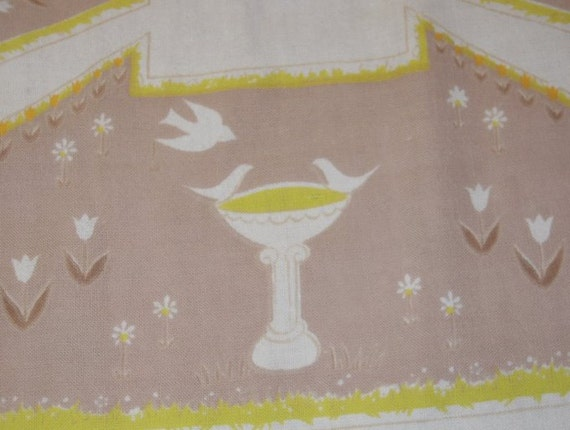 Vintage Tablecloth Fab Formal Garden Welcome to the Tuileries