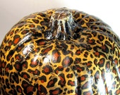 Thanksgiving Pumpkin leopard print for  fall decoration LARGE