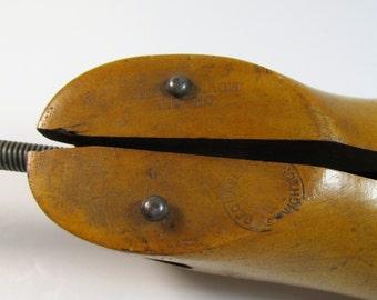 Viintage wooden Geo. E. Belcher shoe stretcher