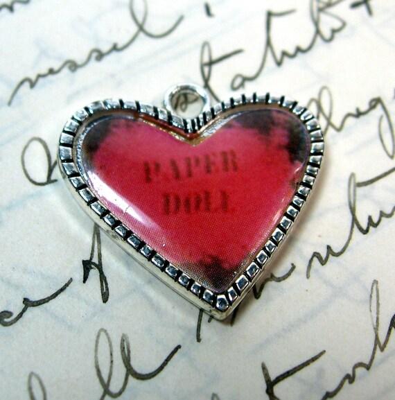 Pink Heart Charm  AAi Pink Heart Charms