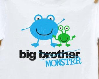 big brother shirt- funny and humorous for big brother or big brother to be t-shirt