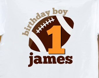 football birthday shirt - perfect for sports themed birthday parties and any age