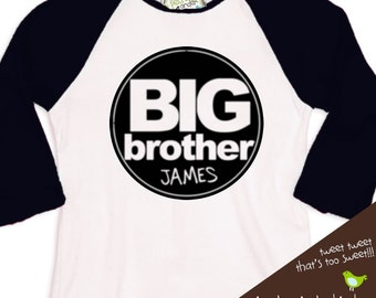 big brother shirt sporty simple and clean circle shirt perfect big brother to be t shirt, too