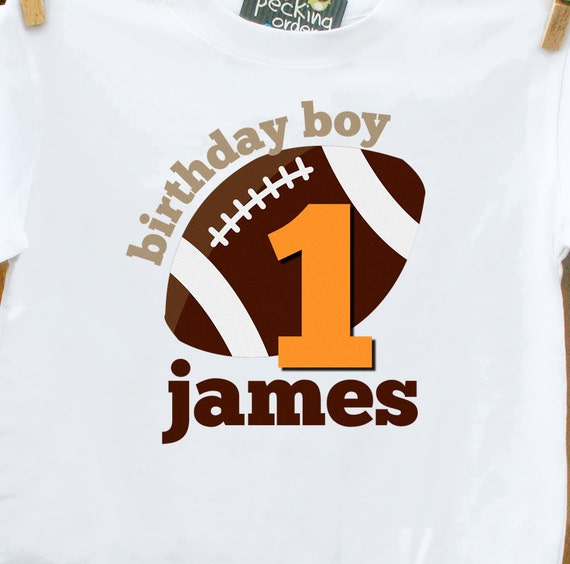 Football Birthday Shirt Perfect For Sports Themed By