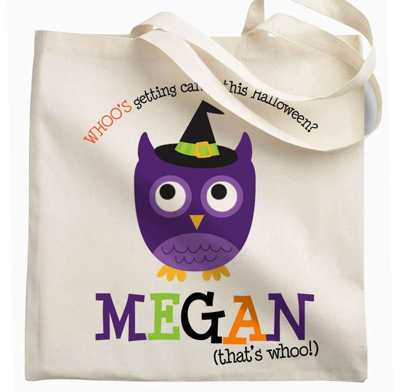 Halloween bag trick or treat bag perfect to use as a halloween bag to collect all the candy