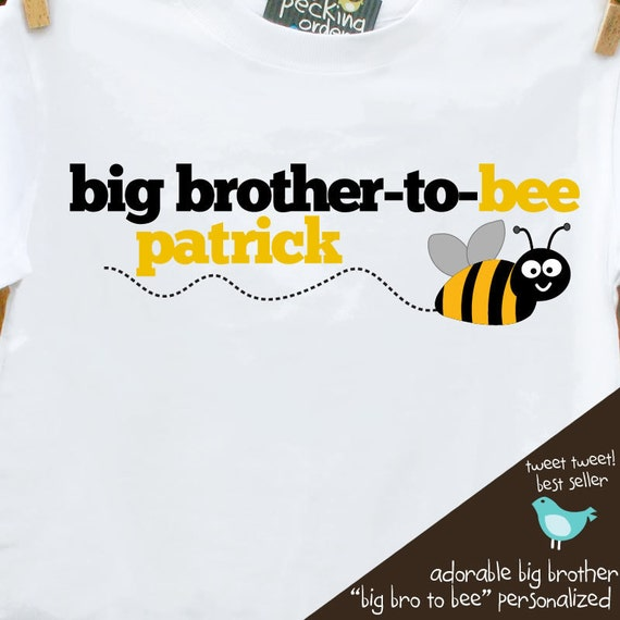 Big brother shirt -  great pregnancy announcement big brother to bee t-shirt