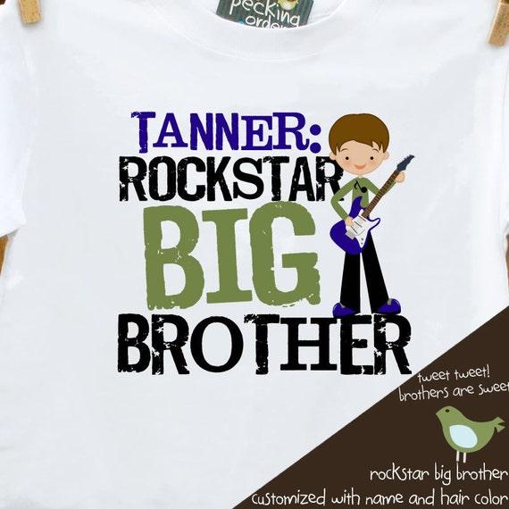 big brother rockstar t shirt