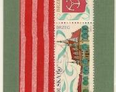Polska Stamp Bookmark