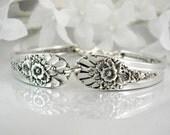 Spoon Bracelet, Silver Spoon Bracelet, Bridesmaids Bracelet, Wedding Bracelet, Bridesmaid, Bracelet, Silverware Bracelet - 1953 JUBILEE