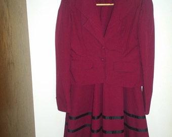 Victorian Jacket and Skirt Set HandMade