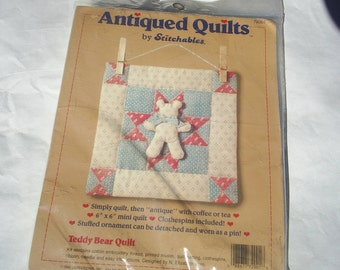 Quilt Embroidery Needlework Wall Hanging Dimensions Kit New