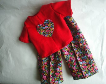 2 piece set fits American Girl Doll Clothes fits Gotz 16 to 18 inch dolls HandMade Blouse Pants