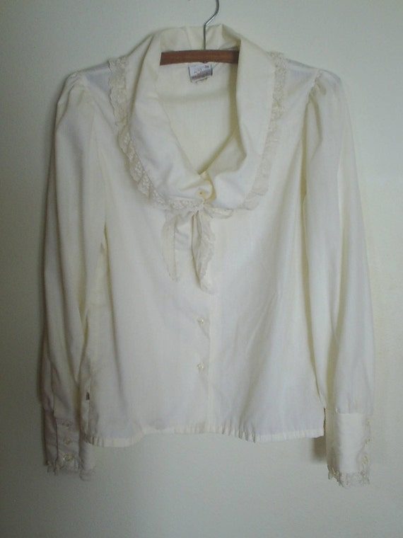 Vintage Victorian Blouse by Wrangler