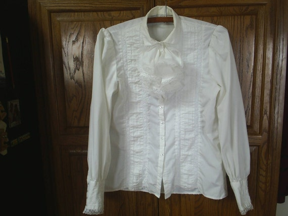 ReServed for Luci Vintage Victorian Blouse HandMade