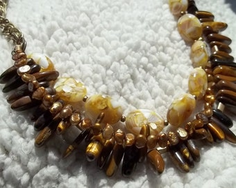 "Pearls, Shells , Tiger-eye...""Oh My"""