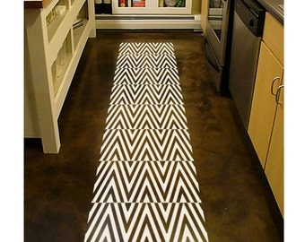 ShaNickers Chevron Wall/Floor Decal/Sticker