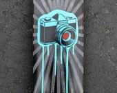 Camera Burst Skate Deck
